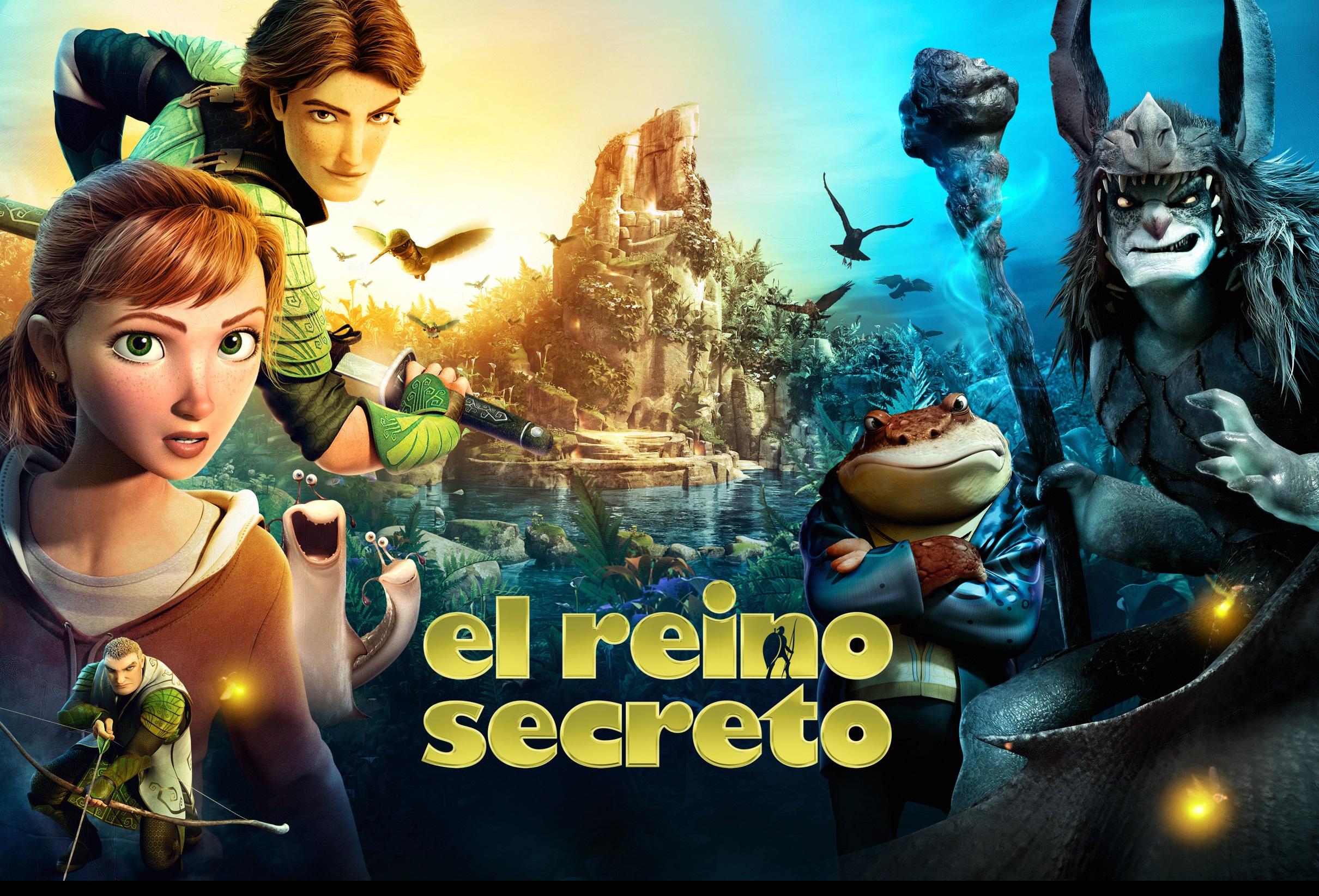 El reino secreto 1080p mega latino identi for Cancion de la pelicula el jardin secreto
