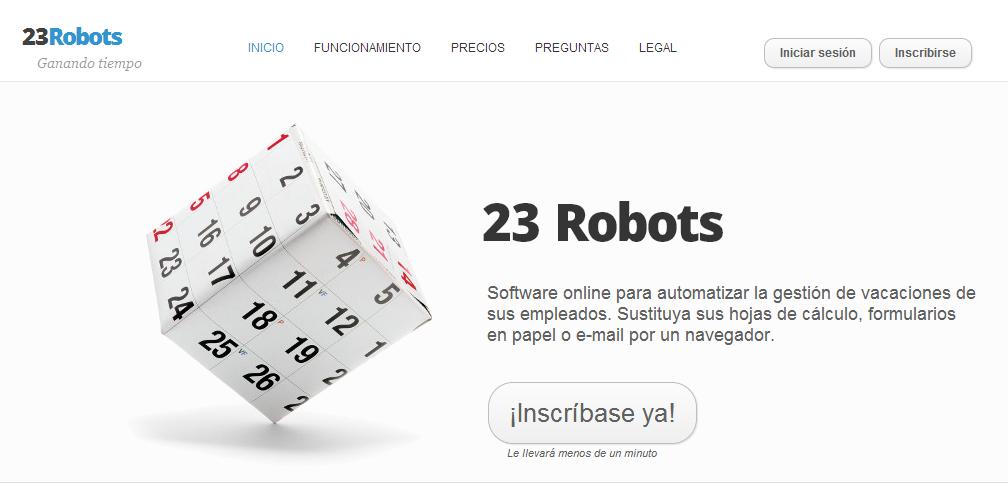 23Robots   Inicio
