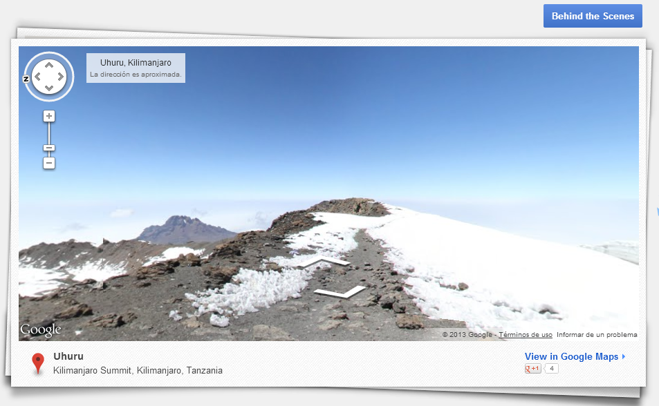 The World s Highest Peaks – Street View – Google Maps