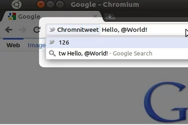Chrome Web Store   Chromnitweet
