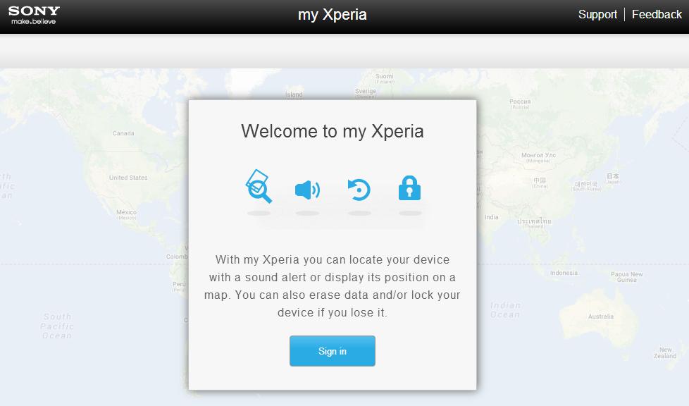 my Xperia