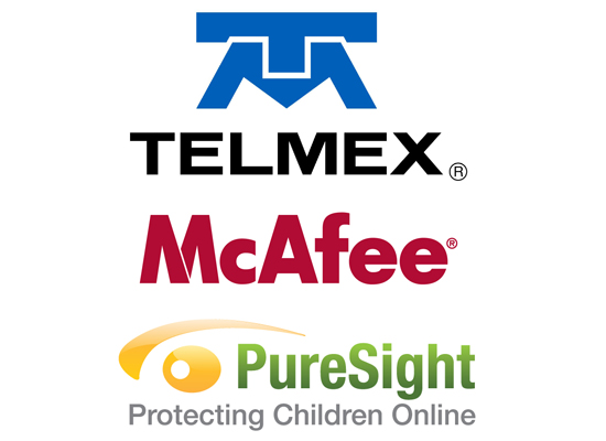 telmex mcafee puresight