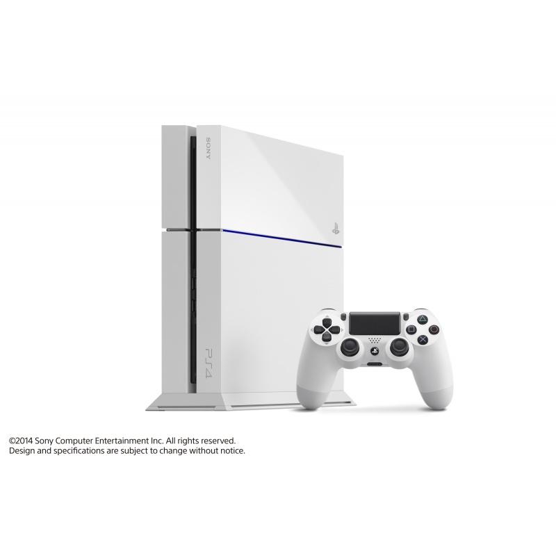 PS 4 white